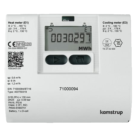 Multical 403 Ultrasonic Energy Meter